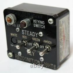 IFF Friend or Foe Identification Switch Box, NOS, WWII Aviation INS-0116