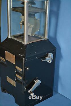 Johnson Fare Box, Bus Trolley Street Car Coin/Ticket Machine, Americana, 1920