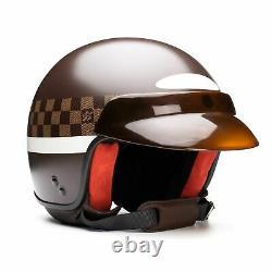 LOUIS VUITTON Damier Mini Jet GM Motorcycle Helmet Limited Edition 58 Box, Bag
