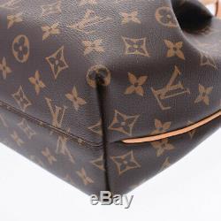 LOUIS VUITTON Monogram Turren PM 2WAY bag Brown M48813 Hand Bag 800000084654000