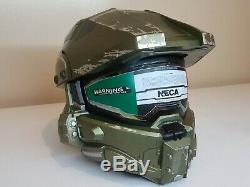 MEDIUM Halo Master Chief Motorcycle Helmet ORIGINAL BOX DOT CERTIFIED