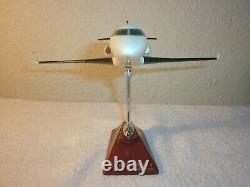 Marquis Cessna Gulf Stream Jet Airplane Desk Model Display Original Box 9