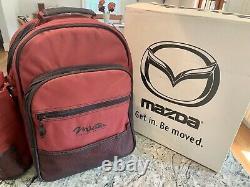 Mazda MX-5 Miata 2000 Special Edition Backback & Picnic Set Rare, New In Box