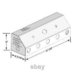 Merritt Aluminum 3533 Diamond Plate Connection Box