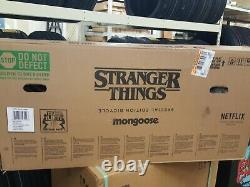 Mongoose Max BMX Bike Limited Edition 20 NETFLIX Stranger Things NEW IN BOX