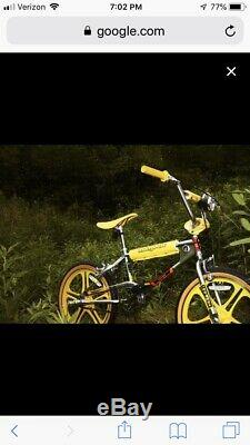 Mongoose Stranger Things BMX Bike Limited Edition New in box