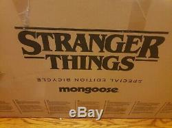 NEW IN BOX Stranger Things Mad Max Mongoose BMX Bike 80s Netflix