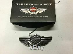 NEW in Box Harley Davidson 100th Anniversary Belt Buckle