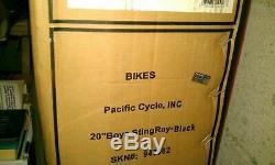 NOS Schwinn OCC Stingray Chopper. NIB Box is Still Sealed. Black OCC Stingray