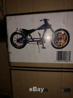 NOS Still Sealed In Box OCC BLUE Schwinn Stingray Chopper Bicycle