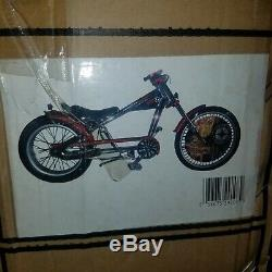 NOS Still Sealed In Box OCC Chrome Schwinn Stingray Chopper Bicycle