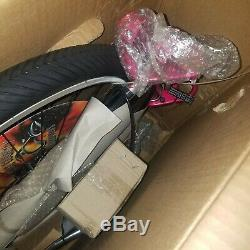 NOS Still Sealed In Box OCC Pink/Black Schwinn Stingray Chopper Bicycle