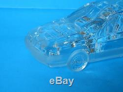 Nancy Daum Alfa Romeo 155 Lead Crystal Auto Glass Car (new In Box) Free Shipping