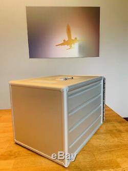Neue Flugzeugtrolley Alu Box silber mit 2 x Einschub + Zahlenschloss / OVP TOP