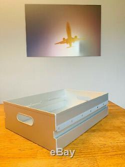 Neue XL Atlas Box Unit NEU m. Rollen inkl. 3 neue Laden aus Alu. Flugzeugtrolley
