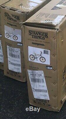 New In Box- Mongoose STRANGER THINGS NETFLIX Limited Edition Max BMX Bike