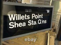 New York Subway Roll Box Sign 23 Positions
