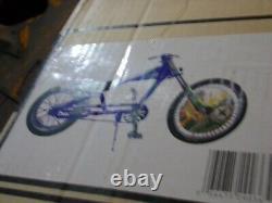 New in Box Schwinn Blue Orange County Chopper Stingray Bike