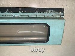 Ny Nyc Bus Roll Sign Box Complete Front & Back Glass Intact Crank & Gears Work