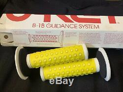 Old School Bmx Oakley B-1B Guidance System Grips New In Box