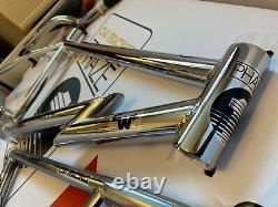 Old school bmx CW racing Phaze 1 limited edition chrome boxed
