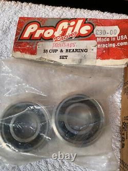 Old school bmx Profile 180 Retro Cranks Spider And BB Boxed