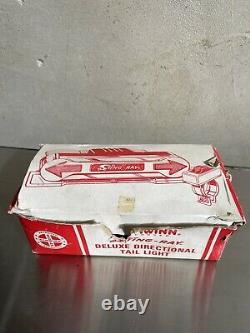 Original Schwinn Stingray/Krate Rear Directional Tail Light, With Original Box