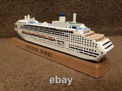 P&O Australia Cruises PACIFIC JEWEL Cruise Ship Model New & Boxed Large 26cms