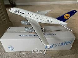 PacMin 1/100 Lufthansa Airbus A380-800 D-AIMD Tokyo Promo Model Original Box