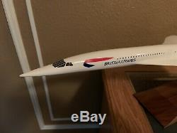 PacMin 1/100 Rare British Airways Concorde Model (Union Jack) With Original Box