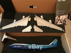 Pacmin 1/100 Boeing B747-400 House Color Livery Airplane Model Brand New in Box