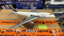 Pacmin Atlas Air Boeing 747 Airplane Model 1/200 Scale No Box