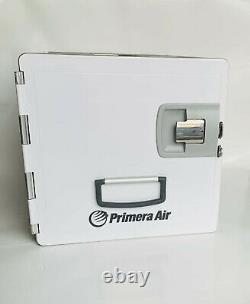 Primera Air Atlas Unit Flugzeugbox Alu Slam-Lock used // weiß / silber TOP