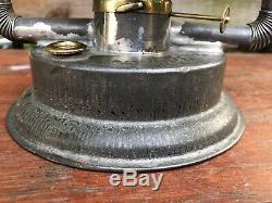 RARE Berger Crinkle Corner Double Wire Lantern