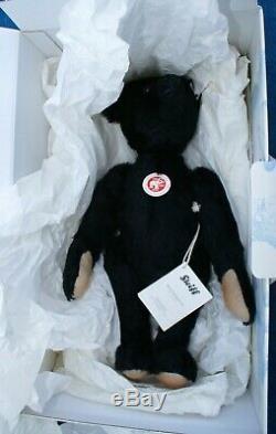 RARE STEIFF The Titanic Commemorative Bear Mourning Bear Replica LE 1804/1912