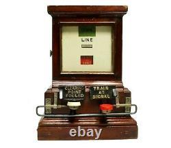 Railway Signal Box Instrument, GWR Great Western Railway, Spagnoletti
