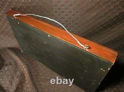 Rare 1917 Tug Boat Shadow Box Model