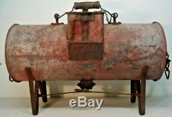 Rare! Antique COOK CAR JOURNAL COOLER Train Hot Box Cooler. Pat. Date 1912