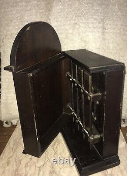 Rare Antique J. C. DEAGAN Chicago Wooden Box Dinner CHIME XYLOPHONE SHIP RAILROAD