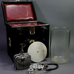Rare RSA Railway Signal Edison Battery 9BJ1 10 3/4 Jar & Lid, Electrode, Box