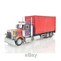 Rectangular Tissue Holder 10 Wheeler Box Container Truck 19.5 Scale Metal Model