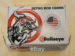 Retro BMX x BULLSEYE BOX CRANKS x Chromoly x Redline JMC Hutch Cook SE