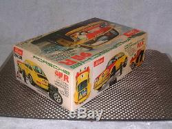 SCHUCO RALLY PORSCHE 911R, VINTAGE BATTERY OPERATED. 116 SCALE With BOX! WORKING