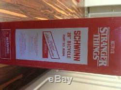 STRANGER THINGS MIKE BIKE LIMITED EDITION SCHWINN #68 of 500 NEW IN BOX