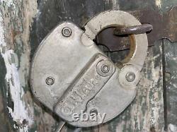 Santa Fe ATSF RY Depot ADLAKE Lock Box Severy, KA Frisco Rwy Jct 15x8.5x10