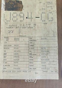 Schwinn 1971 Nos Fair Lady Girl's Stingray Bicycle Sealed In Original Box