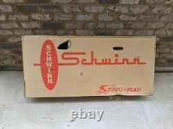 Schwinn 1999 Grape Krate Stingray Bicycle Reproduction New Sealed In Box