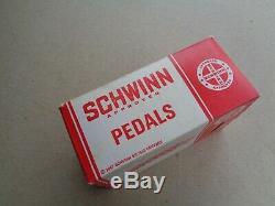 Schwinn Bicycle Midget Stingray NOS Pedals Mint in Box Ladies Bike