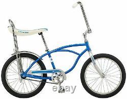 Schwinn Blue StingRay Vintage Retro BIKE Banana Seat NEW BOX sting ray bike