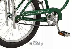 Schwinn Green StingRay Vintage Retro Classic Cruiser BIKE Banana Seat NEW in BOX